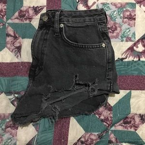 High Waisted Shorts (Black)